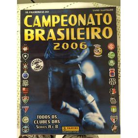 Álbum De Figurinhas Campeonato Brasileiro 2006 - Completo!!