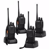 Kit 4 Radios Ansoko Largo Alcance Amateur 2 Vias