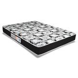 Colchão Luckspuma Espuma D33 Supreme Black Casal - 1,38x1,8