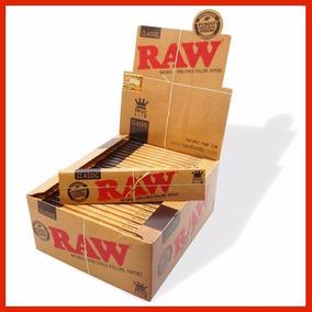 2 Caixas Seda Raw King Size Classic Original Grande Com 50