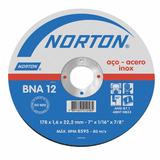 Disco De Corte Norton Inox 115 X 1,0 X 22 Mm - 1 Unid