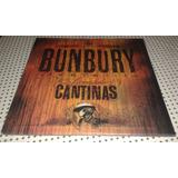 Lp Vinilo Doble+1cd Bunbury Licenciado Cantinas Nuevo