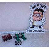 1 Trefiladeira + 3 Fresas Máquina P/ Fabricação De Gaiolas
