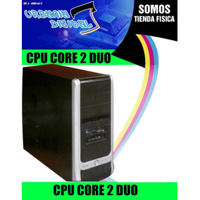 Cpu Core 2 Duo 500 Gb De Disco Duro