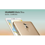 Huawei Mate 9 Lite Android 6 Camara12+2 Mp+8mp Mem. 32+3gb
