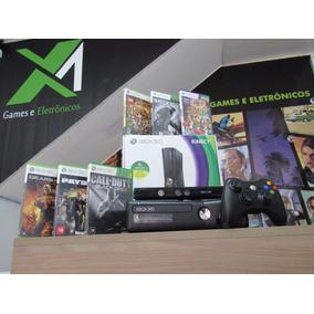 Xbox 360 + Kinect+ Jogos Originais+ Controle