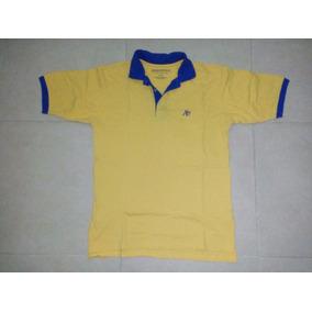 Playera Polo Aeropostale Amarilla-azul M