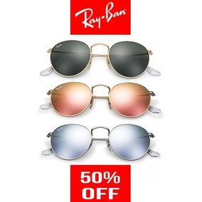 Ray Ban Round Metal Rb3447 - Óculos no Mercado Livre Brasil 8bbcce7f9d