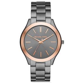 Relógio Michael Kors Mk5476 Cinza Esportivo Masculino - Relógios De ... 1d1a026826