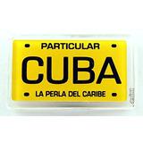 Imán Del Recuerdo De Cuba De Placas De Acrílico Nevera Peque