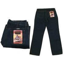 Pantalon Blue Jeans Industrial/obrero Caballero Con Logo