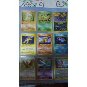 Cards Promo Da Neo Pokemon Fichário Japones