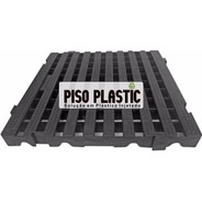 Piso Estrado Em Plastico Modular 50x50