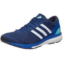 Adidas Adizero Boston 6 Hombre Mystery Blue 9 Y 10.5 Usa