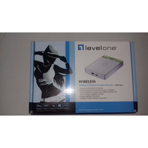 Roteador 3g Levelone Wireless Wbr-6801 150mbps