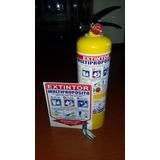 Extintor Polvo Químico Abc 10lb Multiproposito +gancho+señal