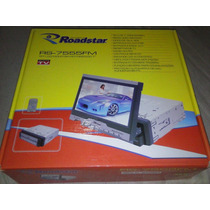 Tela Motorizada (retratil) Roadstar Com Radio E Tv