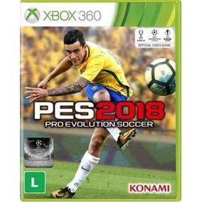Jogo Pes 18 Xbox 360 Pro Evolution Soccer 2018 Novo Física