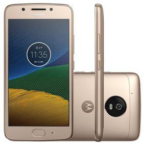 Smartphone Motorola Moto G5 Ouro 5 Câmera De 13mp 32gb De M