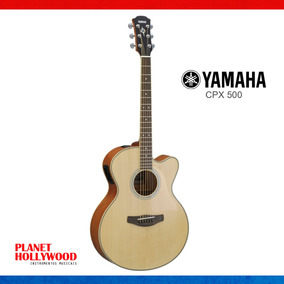 Violão Yamaha Aço Cpx 500   Profissional