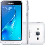 Smartphone Samsung Galaxy J3 8gb Câm 8mp - Branco (vitrine)