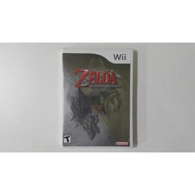 Raro Zelda Twilight Princess Wii Black Label Lacrado Novo