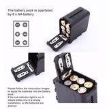 Porta Bateria Np-f970 Sony Led Yongnuo Paneles Luz Monitor