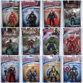 Bonecos Heróis Marvel - Dc - Vingadores - Batman 17 Cm