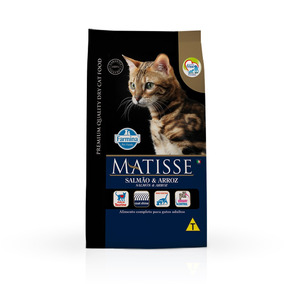 Ração Farmina Matisse Para Gatos Adultos Sabor Salmão E A