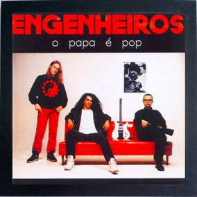 Lp Engenheiros Do Hawaii O Papa É Pop Quadro Do Disco