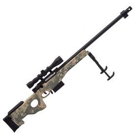 Miniatura Decorativa Em Metal Sniper L96 Camuflado - Arsenal