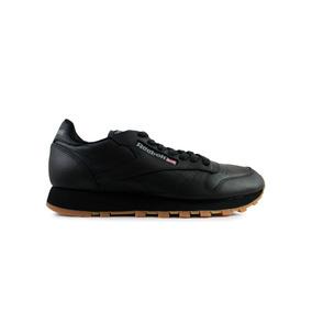 Tenis Reebok Classic Leather - Negro Con Café V69798