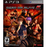 Dead Or Alive 5 Doa5 Ps3 Playstation 3