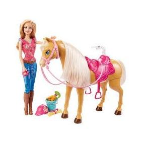 Boneca Barbie Family Barbie Com Cavalo Mattel