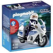 Playmobil 5185 City Action Moto Patrulla Fantastico