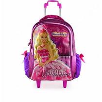 Mochila De Carrinho Barbie A Princesa E A Pop Star M Sestini