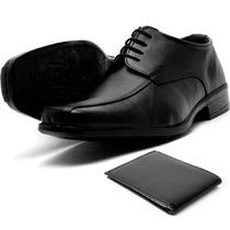 Sapato Preto De Amarrar Preto Atacado Franca