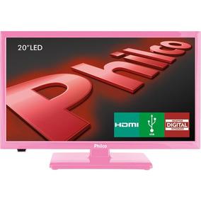 Tv Led 20 Polegadas Philco Ph20u21dr Hd Conversor Rosa
