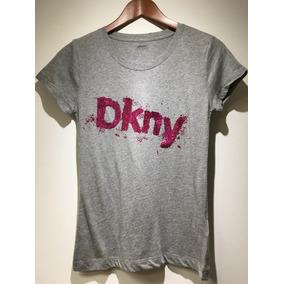 Blusa Dkny Original Gris