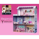 Casa Para Muñeca Barbie Grande Jugue Niño Jesus 120 X 120 Cm