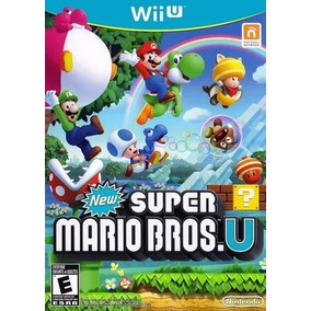 New Super Mario Bros U - Mídia Digital Wiiu - Pronta Entrega