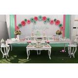 Alquiler De Mesas Vintage Shower Matrimonio Fiestas Bautizo