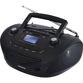 Rádio Sem Cd Com Mp3 Player, Am/fm, Entradas Usb, Auxiliar E