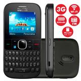 Celular Idoso, Alcatel 3075m,3g, Wifi,câmera 2mp,rádio,mp3