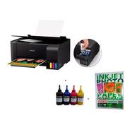 Impressora Multifuncional Sublimatica L3110 + Tintas + Papel