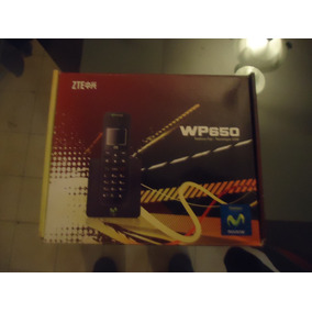 (kas) Telefono Fijo Zte Wp650 Chip Movistar Sin Linea