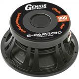 Parlante Woofer Para Auto Genius G-papro 10 Serie Pro 800 W