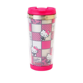 Sanrio - Termo Mug Acero Inoxidable Pink Blocks Hello Kitty