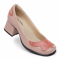 Sapato Boneca Estilo Retro Nr.36 (palmilha Sistema Comfort)