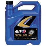 Aceite Elf Excellium Nf 5w40 Sintetico Frances 5 Litros